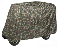 UNIVERSAL 2 & 4 PASSENGER Greenline Camo Golf Cart Covers