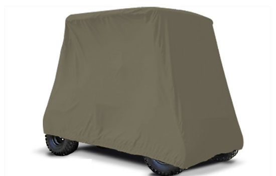 SUNBRELLA 4 PASSENGER Lifted Golf Cart Covers