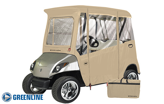 Yamaha Drive Golf Cart Enclosures | National Golf Cart Covers