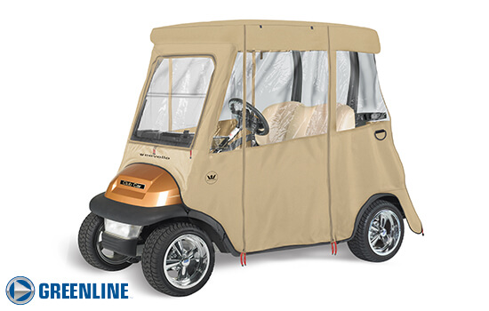 CLUBCAR PRECEDENT - 2 PASSENGER Club Car Golf Cart Enclosure