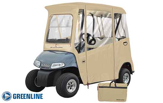 GREENLINE 2 PASSENGER EZ-GO Golf Cart Enclosure
