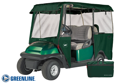 GREENLINE 4 PASSENGER Universal Golf Cart Enclosures / Great for rentals