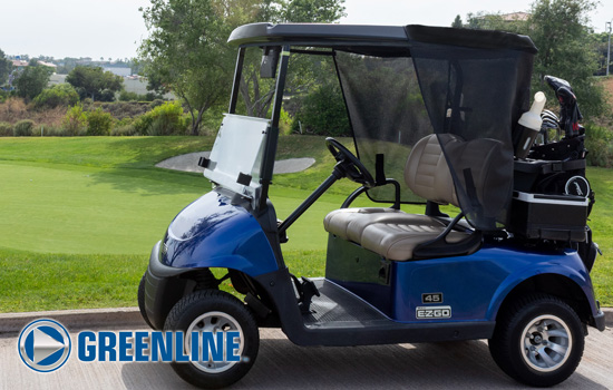 Greenline Golf Cart Shade by Eevelle main