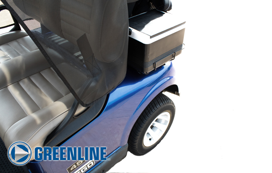 Greenline Golf Cart Shade by Eevelle side