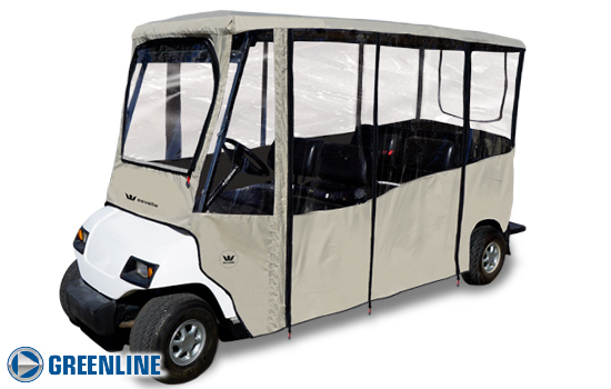 GREENLINE 6 PASSENGER GOLF CART ENCLOSURE