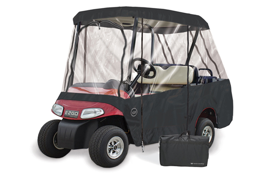 2 Passenger Roof / 4 Passenger Seating Golf Cart Enclosure