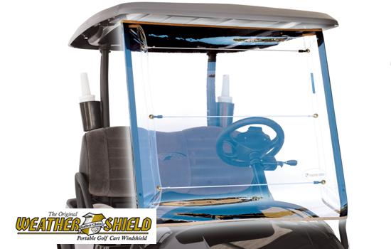 Weathershield Golf Cart Windshield | National Golf Cart Covers